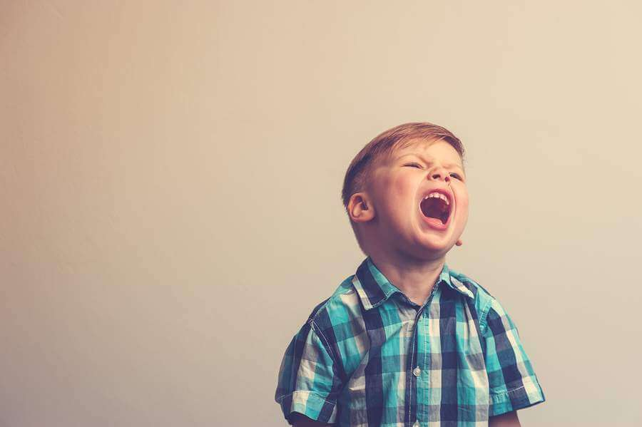 אוטיזם   התקפי זעם