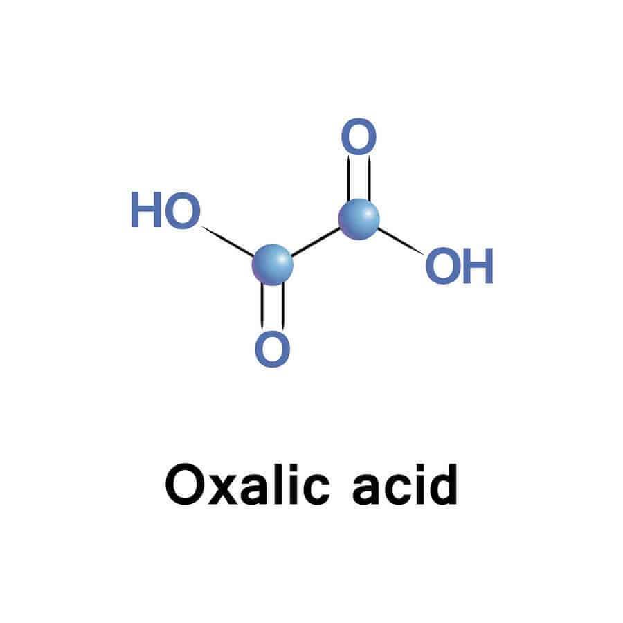 חומצה אוקסלית הינה חומצה אורגנית שנגזרת בעיקר משלושה מקורות