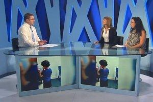 טלי אנגור בראיון בערוץ 9